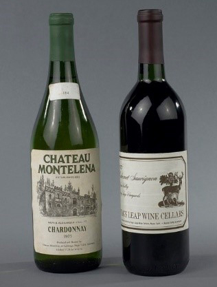 Chateau Montelena 1973 and Stag's Leap Wine Cellars 1973