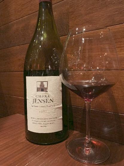カレラ・ジェンセン・ヴィンヤード(Calera Jensen Vinyard)1987のワイン