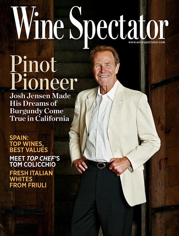 ワイン専門誌「ワインスペクテーター」の表紙