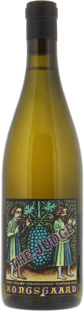 Chardonnay The Judge Napa Valley シャルドネ ザ・ジャッジ ナパ・ヴァレー
