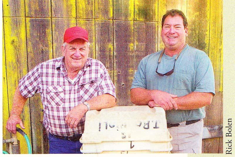 デーヴィス・バイナムの醸造所で働くジョー・ロキオリ・ジュニア