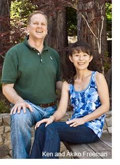 ケン・フリーマンと妻アキコ