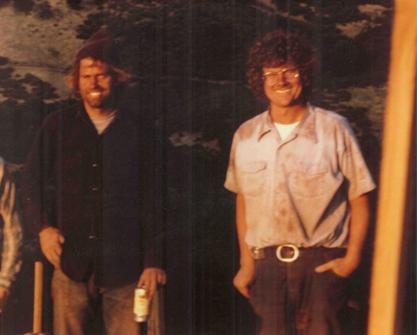 スティーブ・キスラーとマーク・ビクスラー