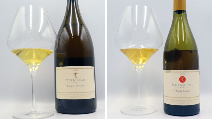 Cuvee Indigene 2008 vs Point Rouge 2002