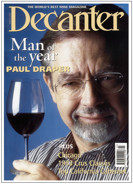 Decanter Man of the Year 2000