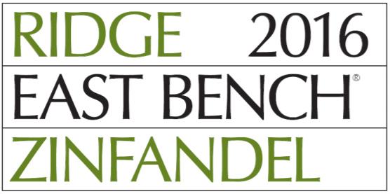 EAST BENCH ZINFANDEL 2016