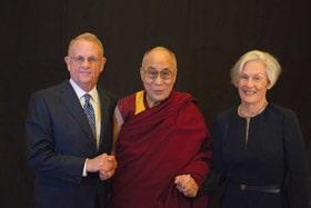 Dick Grace,Dalai Lama,Anne Grace