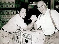 息子Chuck Wagnerと父Charlie Wagner