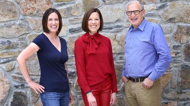 Allison Tauziet and Ann Colgin with Joe Wender