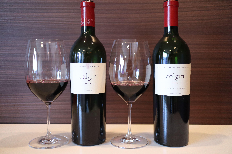Colgin Cariad Proprietary Red Wine 1999 vs Colgin Cabernet Sauvignon Herb Lamb Vineyard 1994