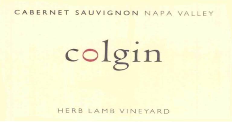 Colgin Cabernet Sauvignon Herb Lamb Vineyard