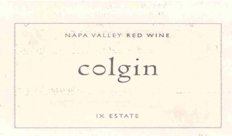 Colgin IX Proprietary Red Estate