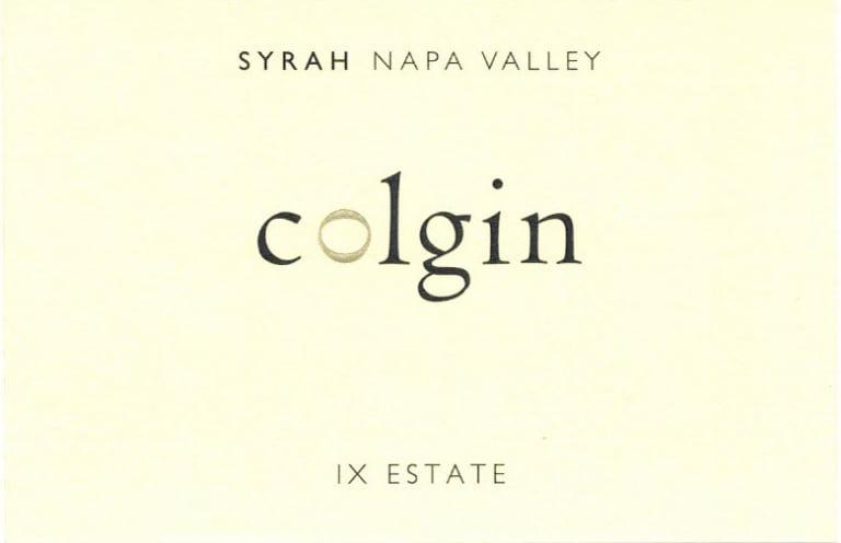 Colgin IX Syrah Estate
