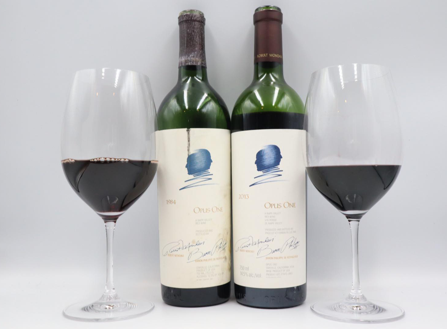 Opus One 2013 vs Opus One 1984