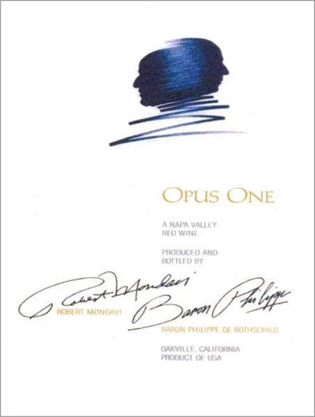 Opus One Label