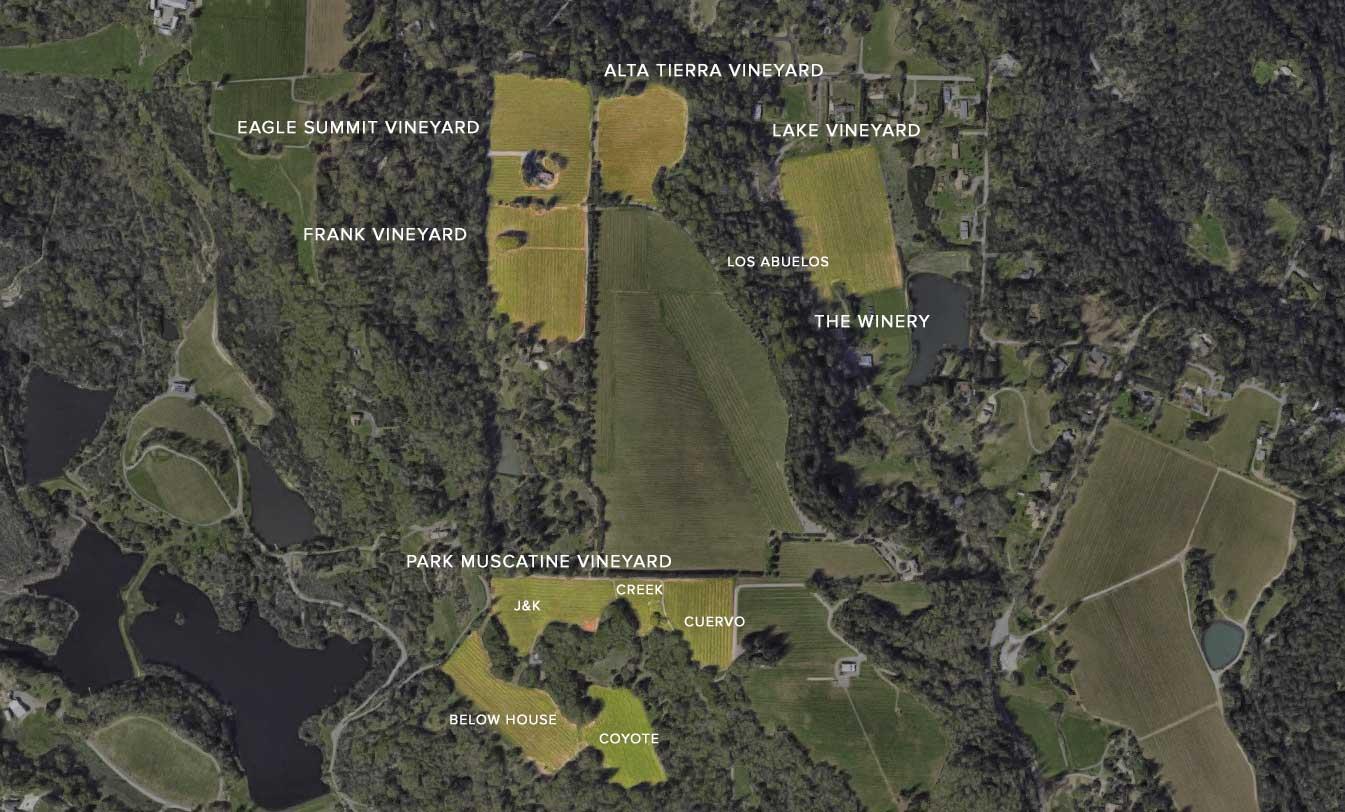 Dunn Vineyards Map