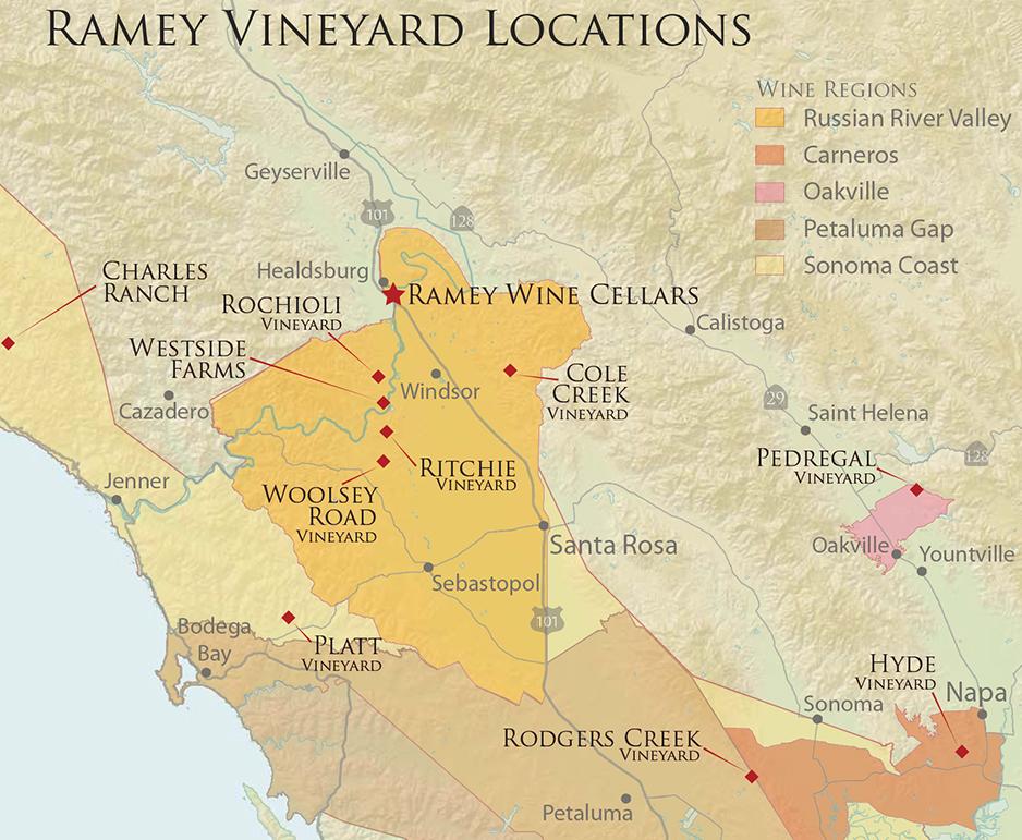 Ramey Vineyard Location
