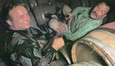 Ed Selyem and Burt Williams