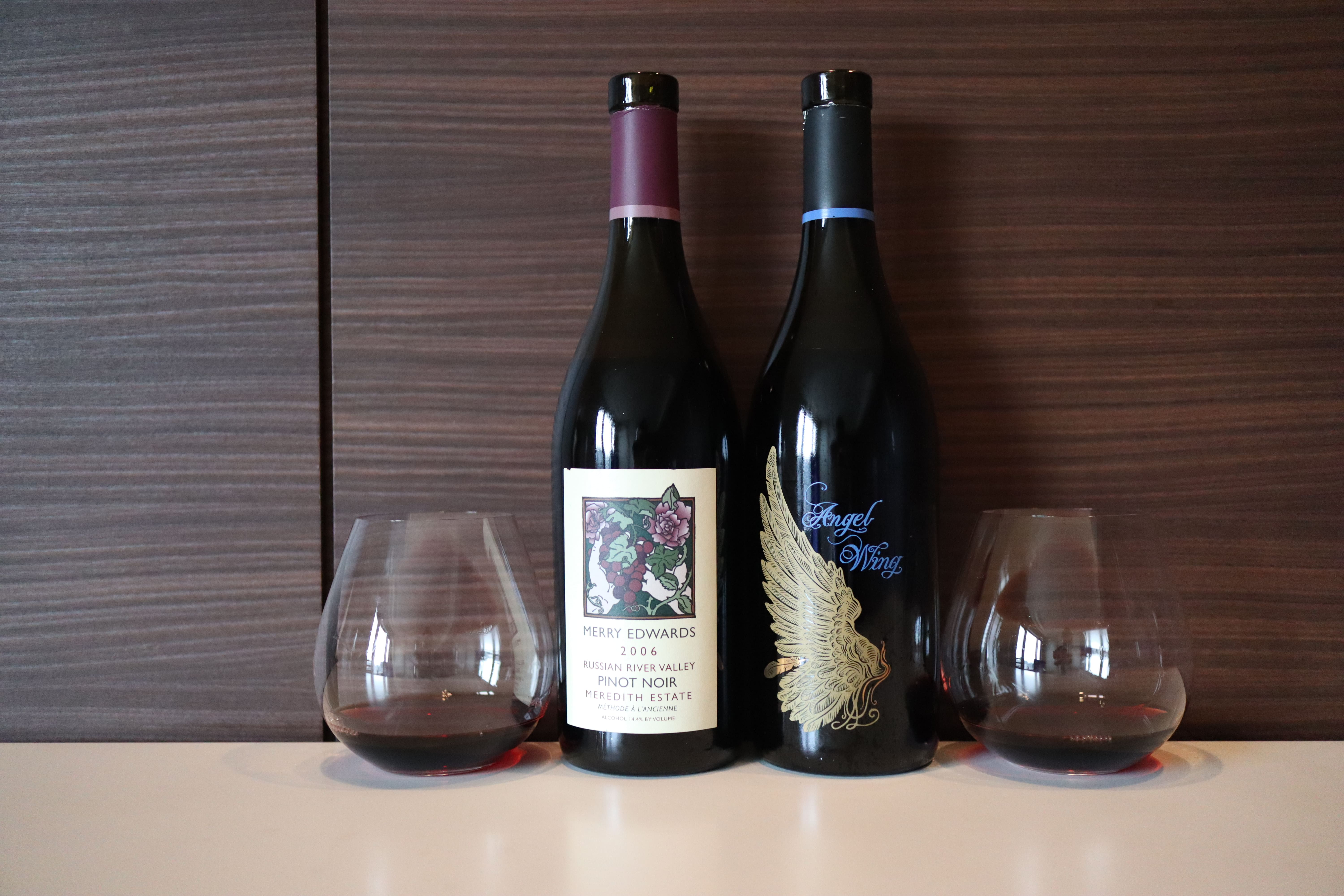 Merry Edwards Pinot Noir Meredith Estate 2006 vs Angel Wing 2006