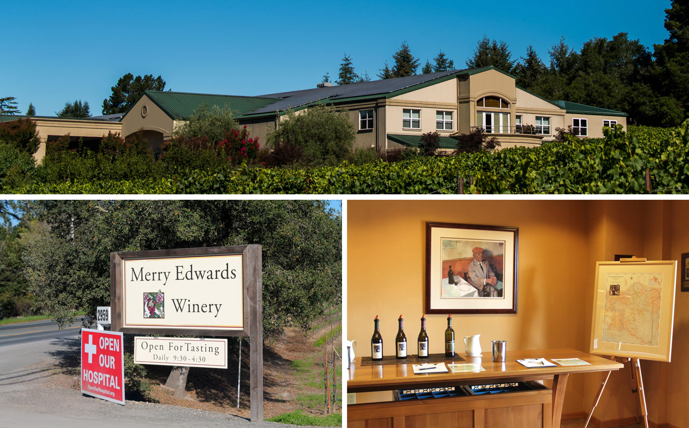 Merry Edwards Winery , Merry Edwards Winery Entrance , Merry Edwards Winery Tasting Room