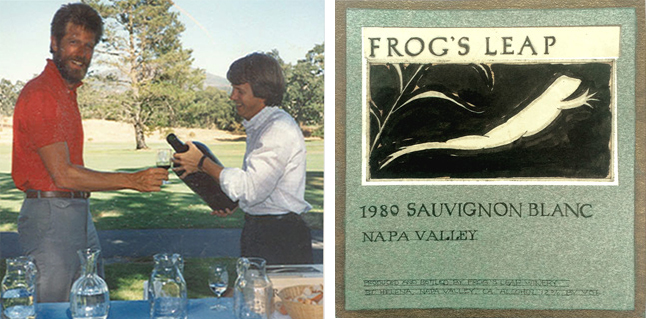 Larry Turley and John Williams,Frog's Leap Label
