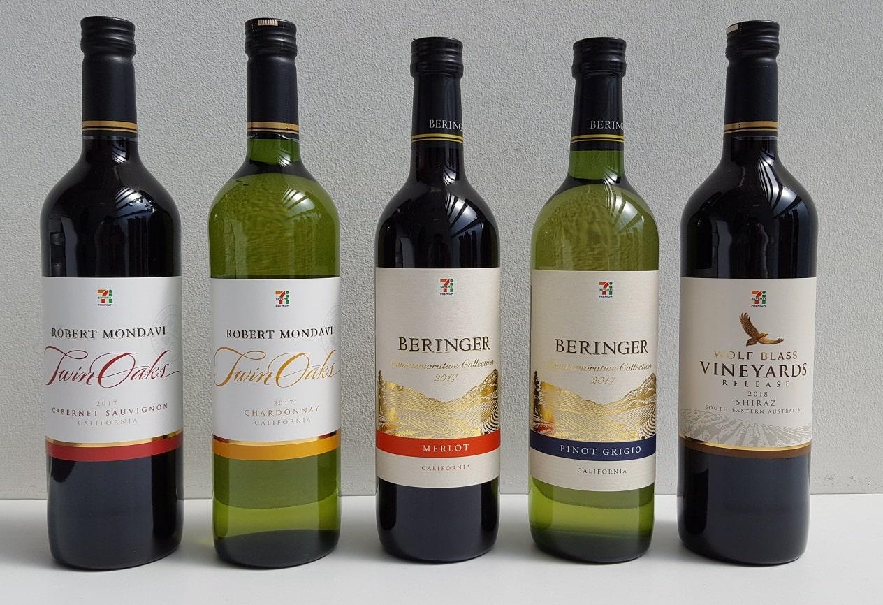 セブンプレミアムワイン5種