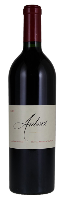 2005 Aubert Lucia Abreu Howell Mountain Red