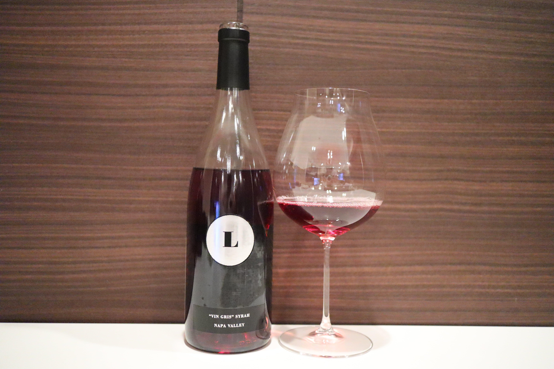Lewis Cellars Vin Gris Syrah Napa Valley Rose Wine 2018