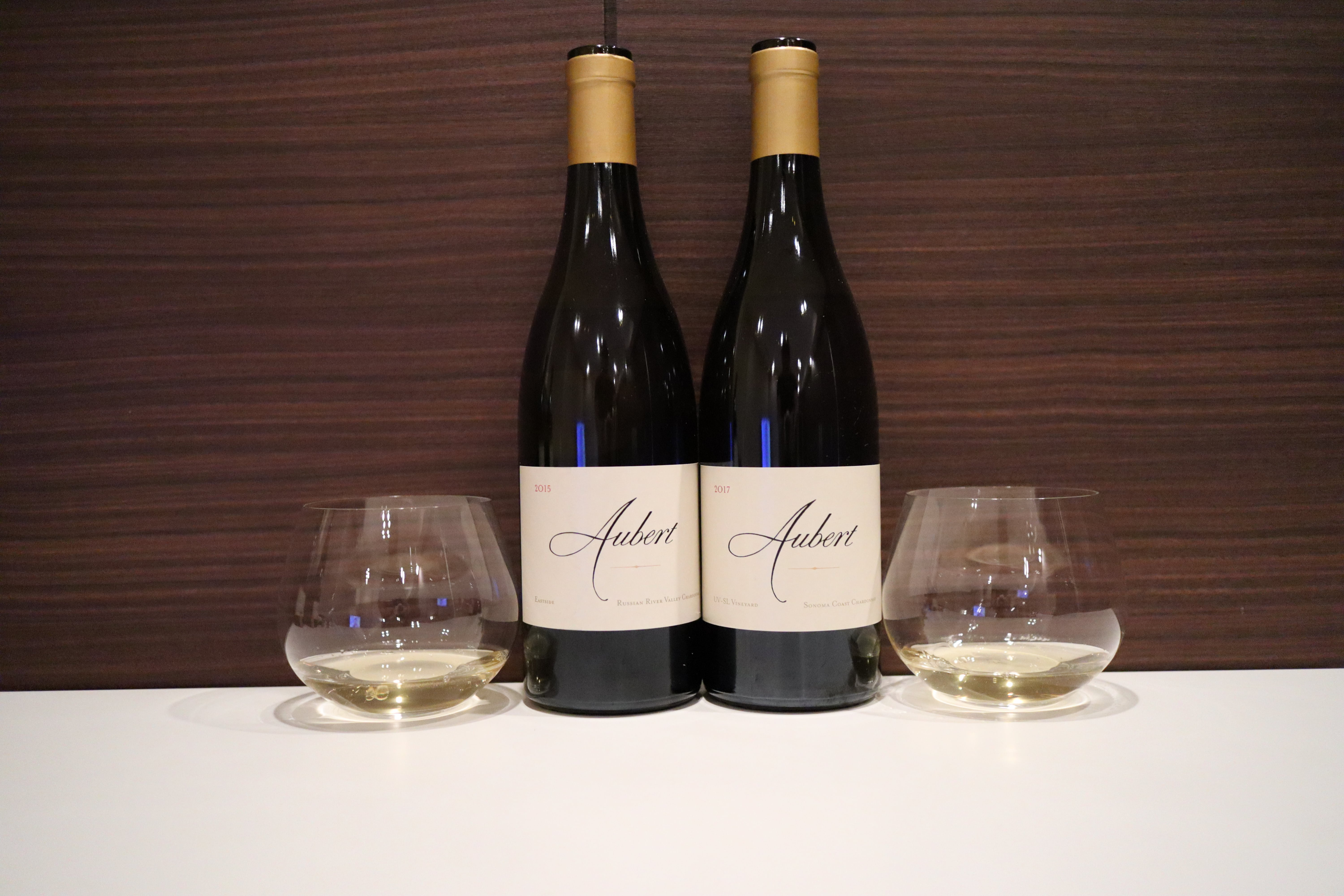 Aubert Vineyards Chardonnay Eastside 2015 vs UV-SL Vineyard 2017