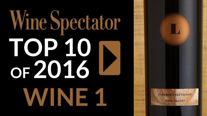 Wine Spectator wine of the year 2016