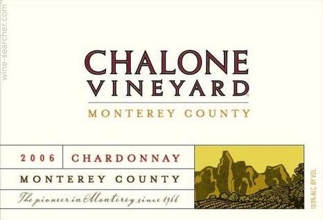 Chalone Vineyard Monterey County Chardonnay