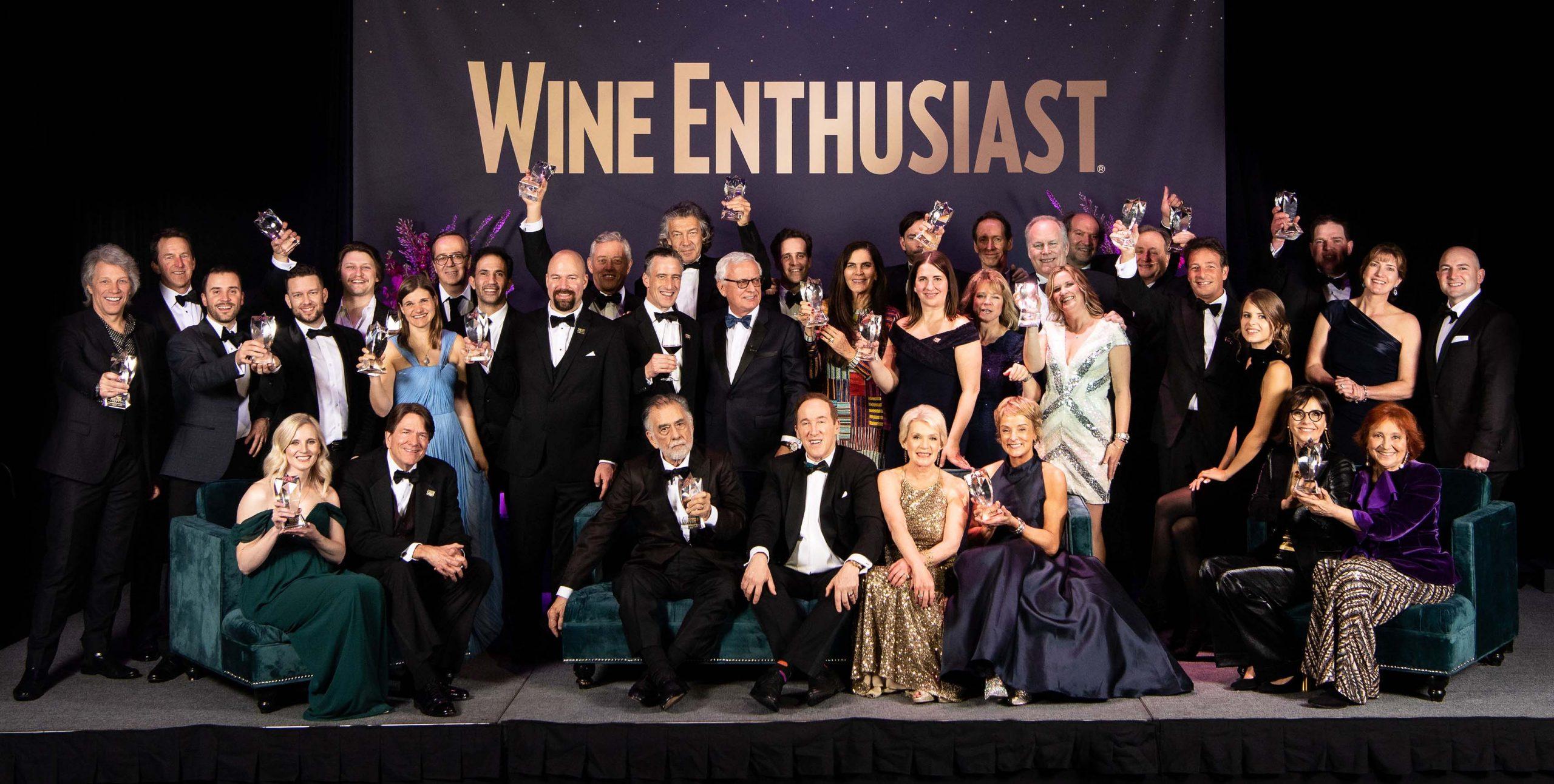 Wine Enthusiast Wine Star Lifetime Achievement Award 2019