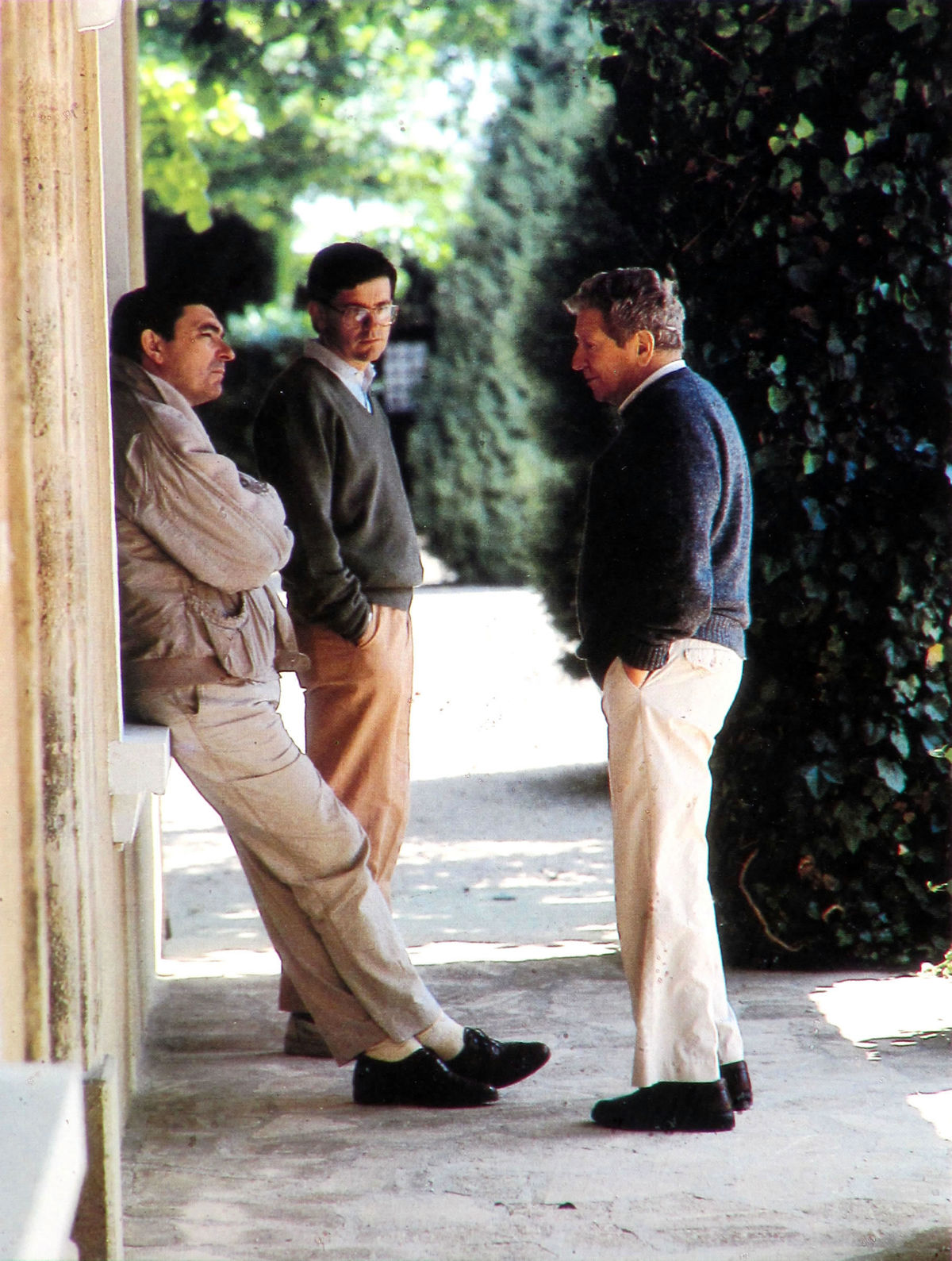 Robert-Haas-with-Jean-Pierre-and-Francois-Perrin