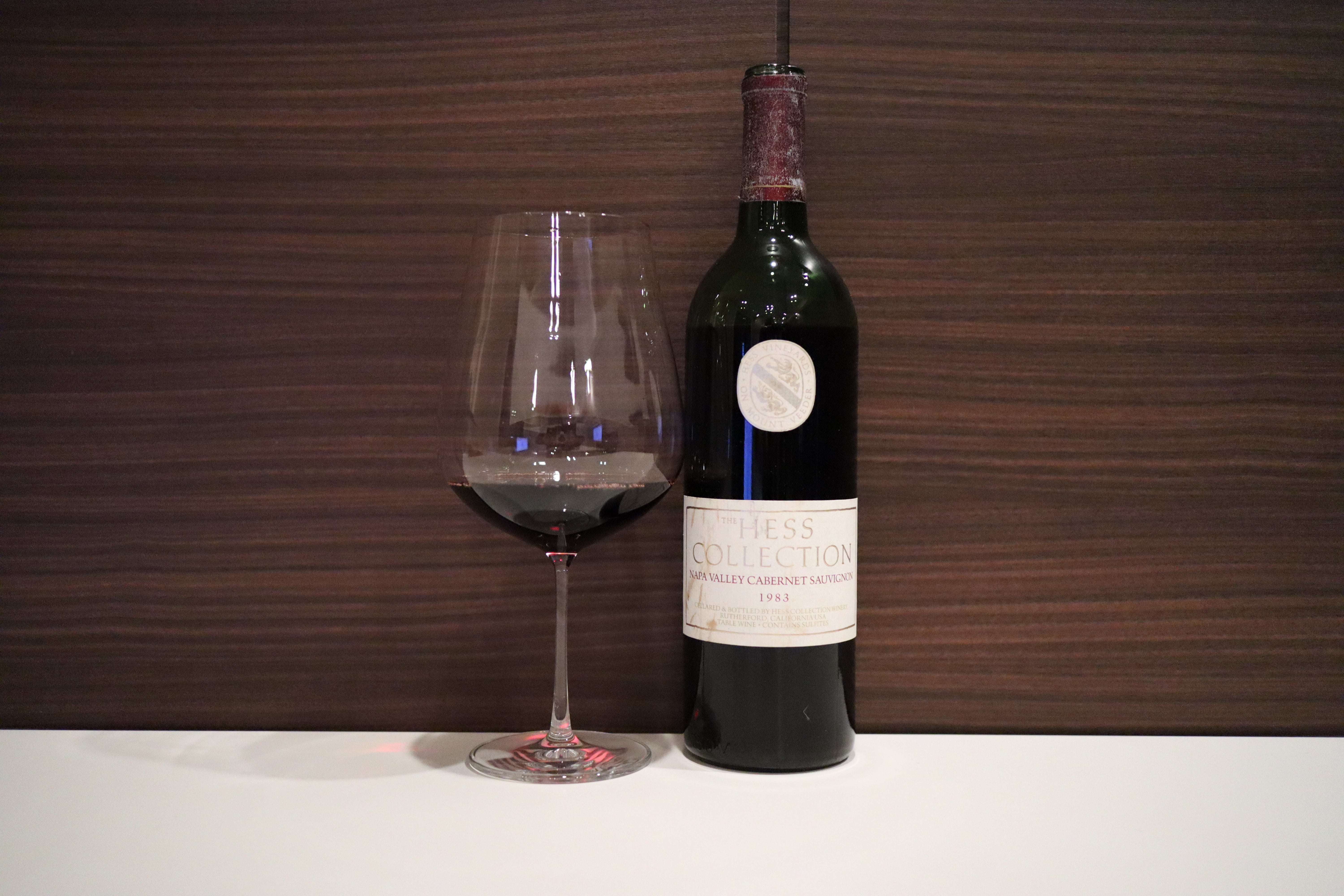 Hess Collection Cabernet Sauvignon 1983