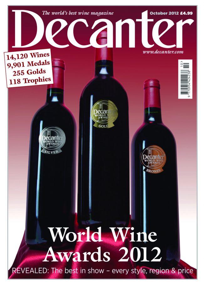Decanter World Wine Award 2012
