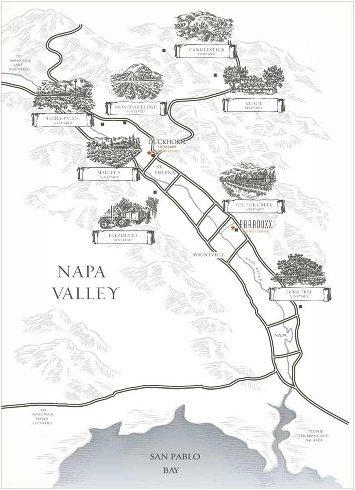 Vineyard Map