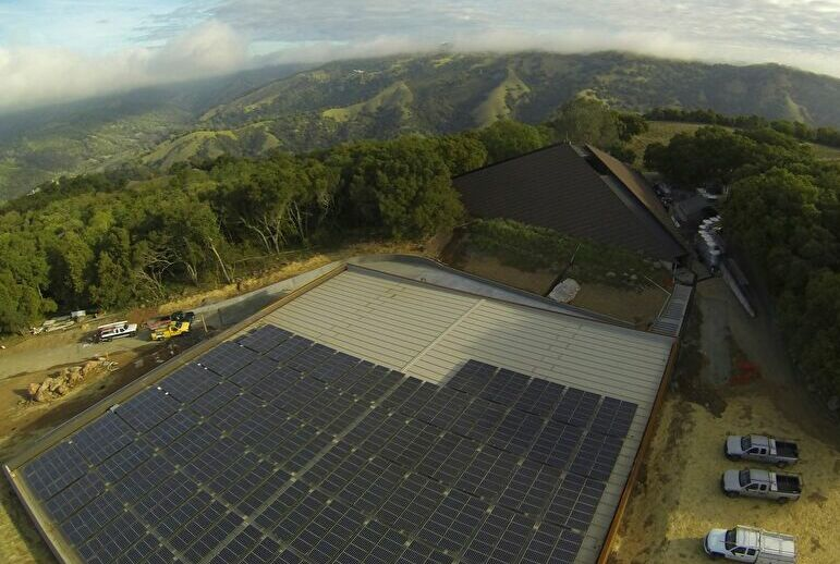 Chappellet Winery Solar System
